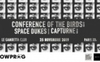 Capturne + Space Dukes + Conference of the Birds // Le Gambetta Club