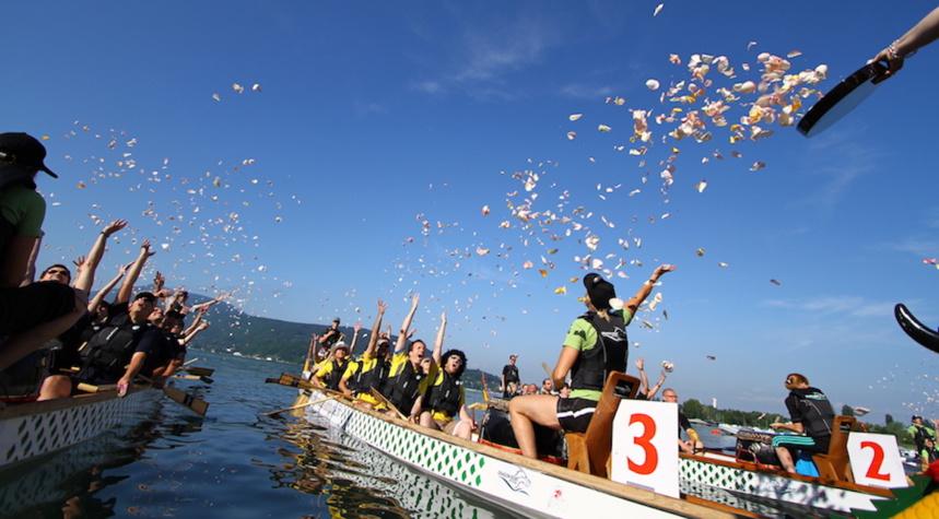11° édition du Festival Dragon Boat d'Annecy les 1er et 2 octobre 2016