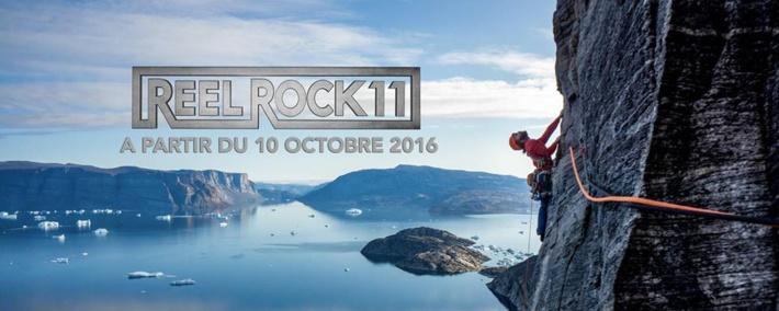 REEL ROCK, le meilleur de l'escalade est de retour !