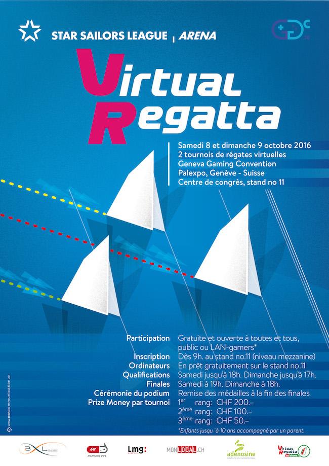 Découvrez VIRTUAL REGATTA au Geneva Gaming Convention, 1ère édition