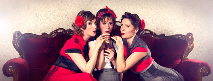 Attention les feuilles festival - Swingirls - Copyright Artkane Asylum
