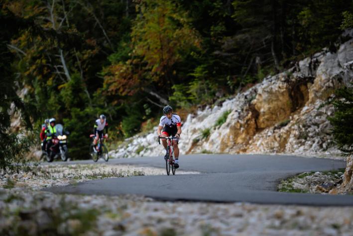 Ascension du Semnoz à vélo @TRIMAX