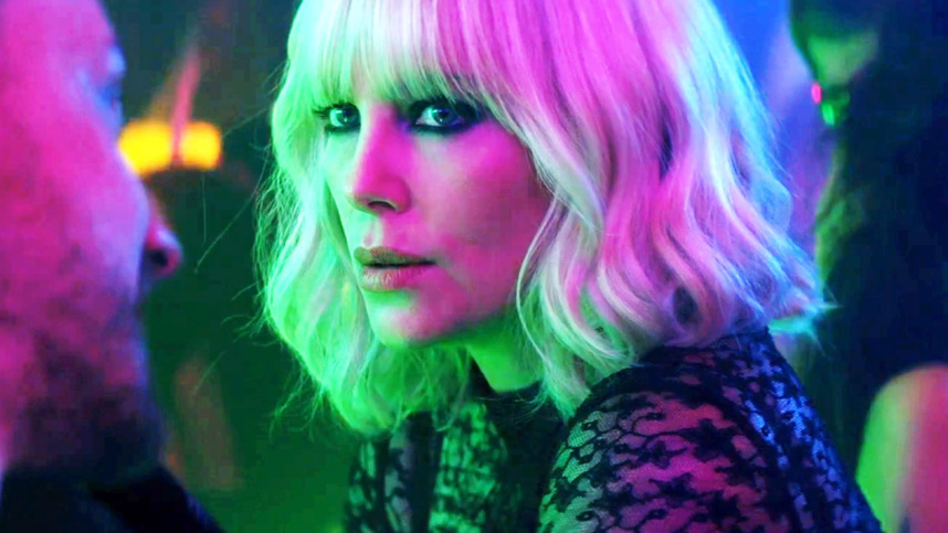 Film Atomic Blonde avec Chalize Theron
