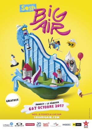 Affiche Sosh Big Air Festival