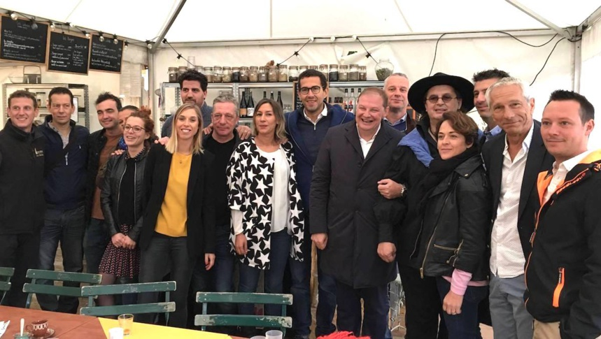 Eric Prowalski, Stephane Dattrino, Julien Tiget, Vincent Favre felix, Alix Marilly, Alain Rubin, Dalila Saadi brockly, Alexis-Olivier Sbriglio, Pascal Droux, Marc Veyrat, Annabelle André, Vincent Lugrin, Nicolas Mouroux (Photo Sign'up event)