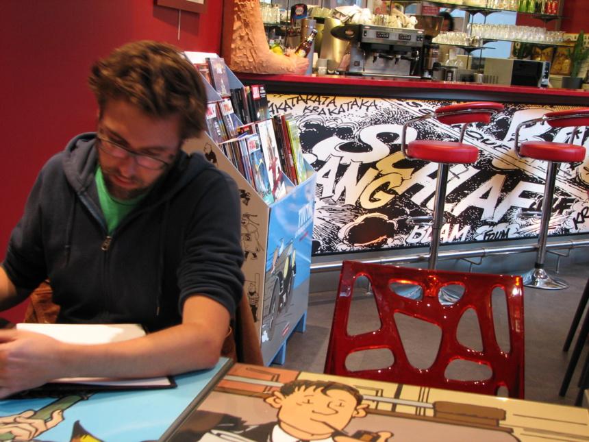 Nous avons rencontré Christophe Regnault, dessinateur de L'homme invisible