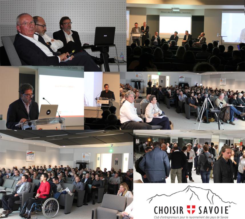 Table ronde organisée le 9 octobre 2017 par Choisir Savoie