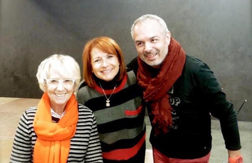 Avec Mercotte et Serge Carbonell
