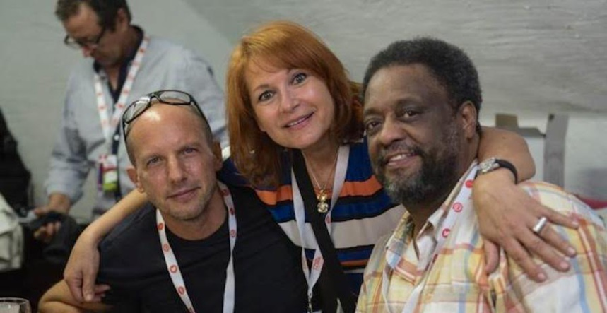 A Clermont (2015) avec Antonio Farao et Chico Freeman