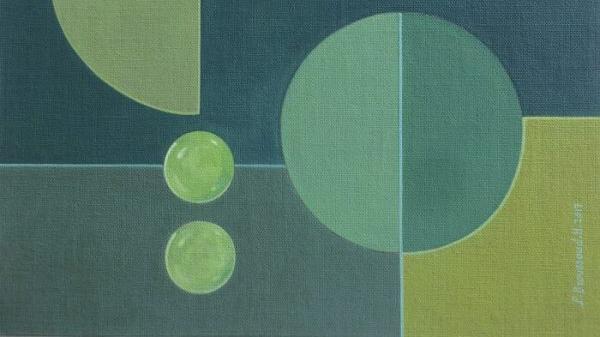 Patricia Broussaud - Carré 3 - Peinture