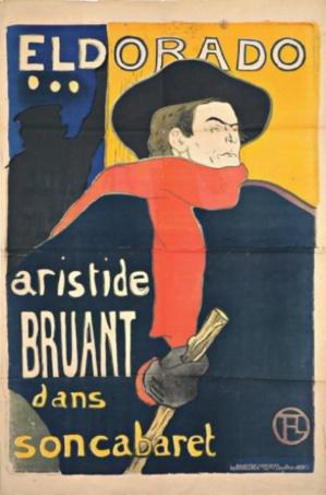 Lautrec Ambassadeurs Aristide Bruant