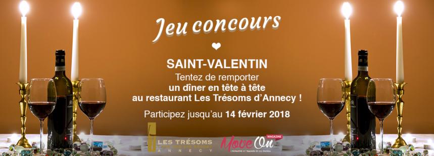 #JEUCONCOURS : La SAINT-VALENTIN avec Les Trésoms