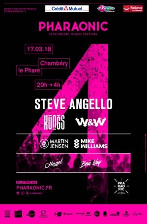 Steve Angello en tête d'affiche du Festival Pharaonic 2018 !