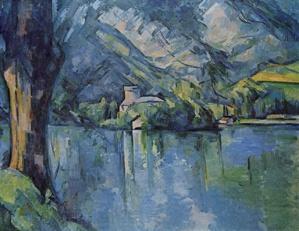 Paul Cezanne - Le lac d'Annecy - 1896