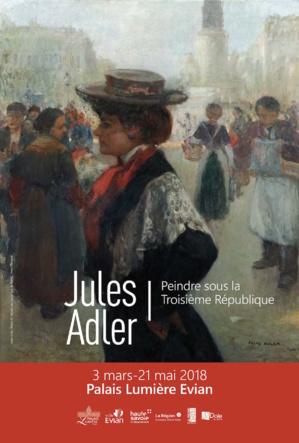 Affiche officielle Jules Adler Trottin ©Musée des Beaux-Arts de Reims