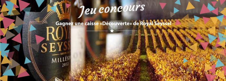 """#JEU CONCOURS : Gagnez une caisse """"Découverte"""" de 6 bouteilles Millésime ROYAL SEYSSEL !"""