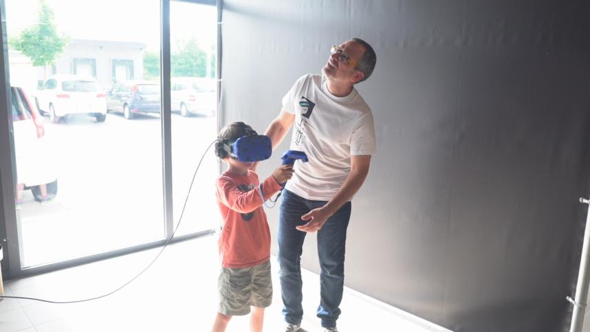E. RÉEL, entre rêve et réalité, réalité et E.réalité - E.RÉEL / Salle d'arcade de réalité virtuelle - Annecy Grand-Epagny ©MoveOnMag
