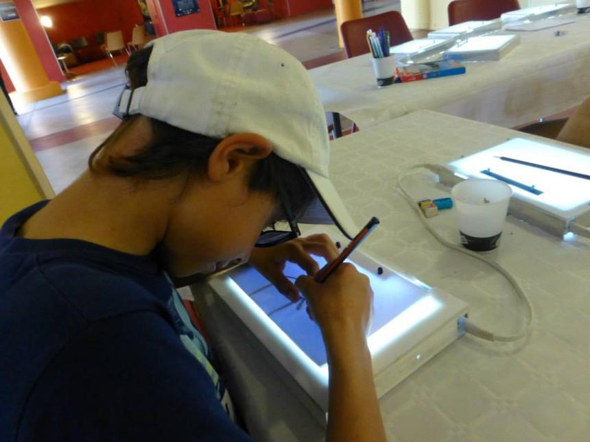 L'Atelier AAA : création, animation, discussion, passion : Atelier dessin ©Paul Rassat
