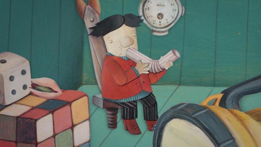 L'Atelier AAA : création, animation, discussion, passion : Le petit bonhomme de poche