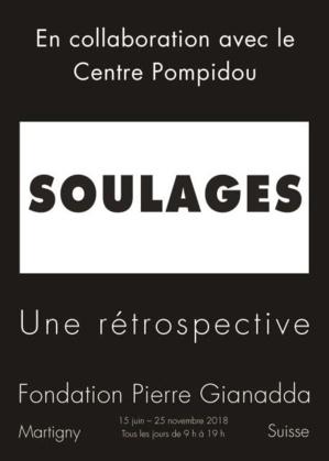 Exposition Pierre Soulages à la Fondation Gianadda