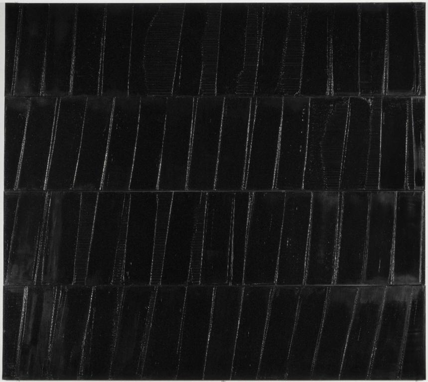 Polyptyque composé de 4 panneaux ©Centre Pompidou, Philippe MIGEAT
