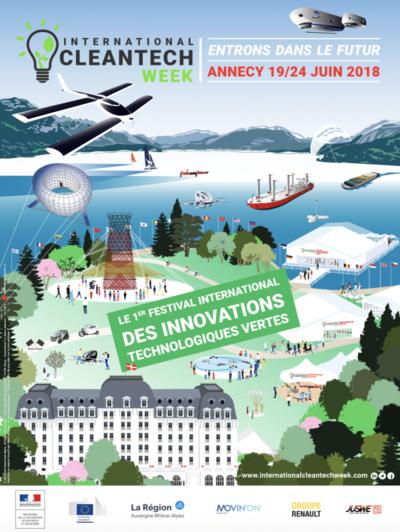 International CleanTech Week Annecy du mercredi 20 au dimanche 24 juin 2018