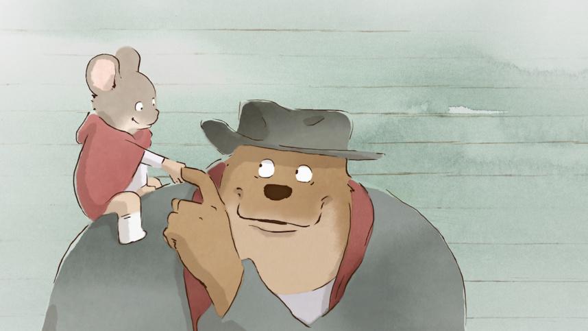 Le 22 août, « Ernest et Célestine », une amitié entre un ours qui veut être artiste et une souris