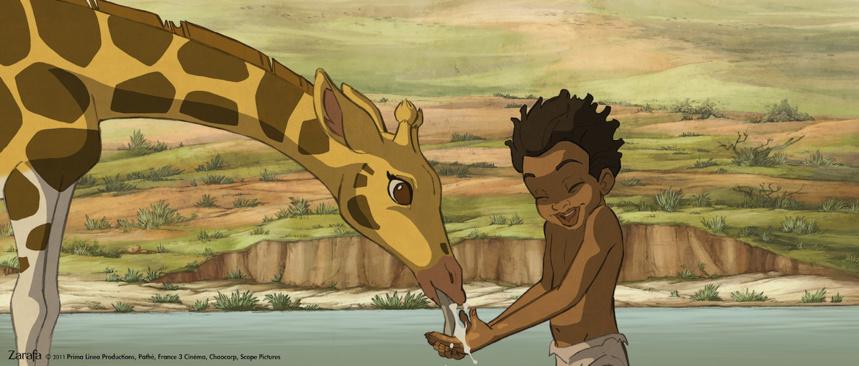 Le 12 juillet « Zarafa », une belle histoire racontée aux enfants sous l'emblème de l'Afrique, le baobab.