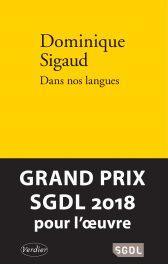 Dominique Sigaud « Dans nos langues ». Editions Verdier. Babouillec « Rouge de soi » (Rivages)