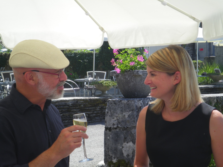 Pierre-Eric Ougier et Isabelle Chauvris