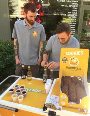 Les cookies DARNELL'S d'Edouard, Pierre et Hugo @MoveOnMag