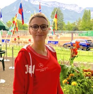 Anne Chedozeau, directrice  de la communication pour le Tournoi des Petits Princes d'Annecy ©Paul Rassat