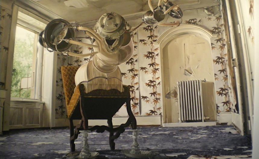 Créature d'appartement N°1 (avec fauteuil cabré!) Till Rabus expose à l'Abbaye. Espace d'art contemporain. Annecy-le-Vieux @MoveOnMag