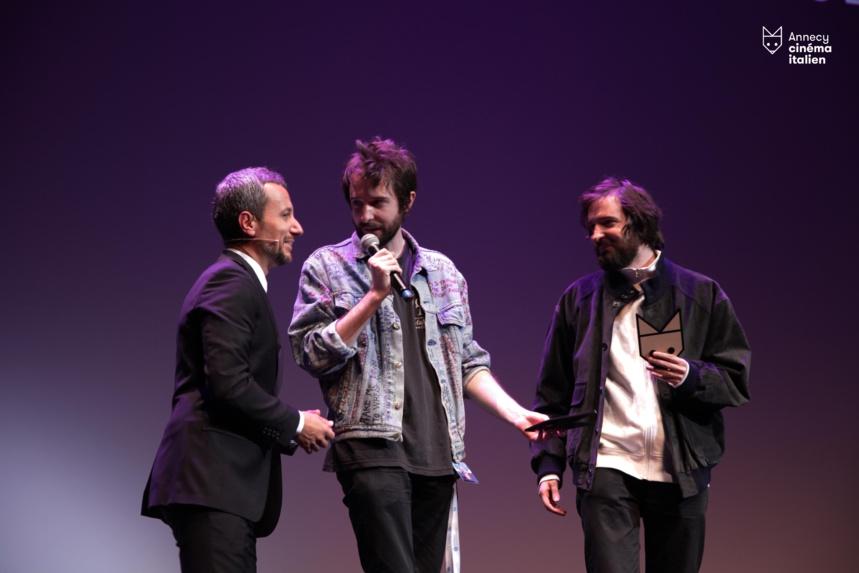 F.G.Via et les frères d'Innocenzo qui ont remporté deux prix