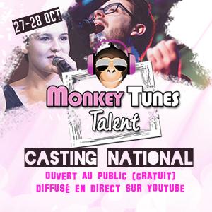 Laure Kolitcheff nous présente la finale à venir de Monkey Tunes Talent