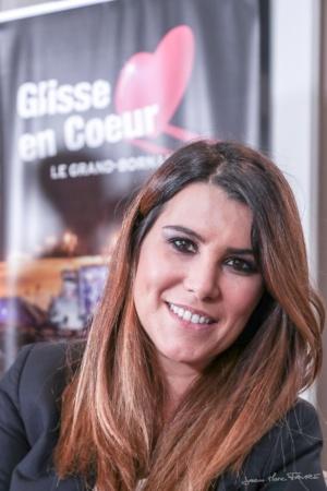 Karine Ferri - Grand-Bornand : Glisse en cœur 12° édition @Jean-Marc Favre