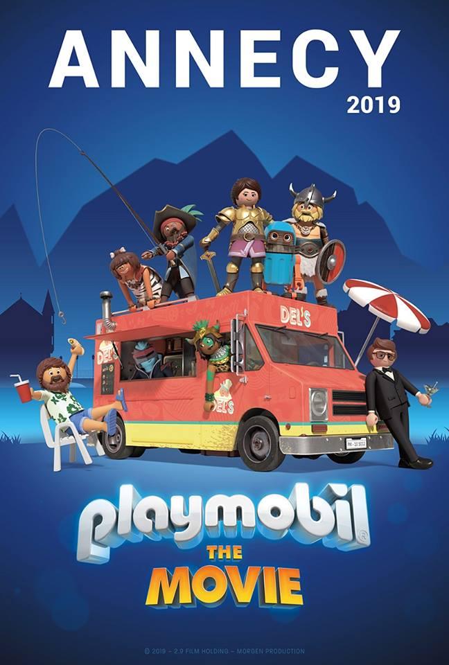 Avant-première mondiale à Annecy pour Playmobil : le Film !