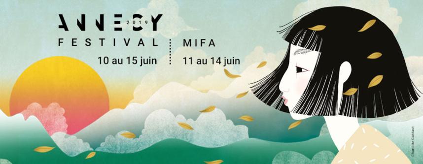 Affiche / Le Festival du Film d'Animation 2019 se dévoile