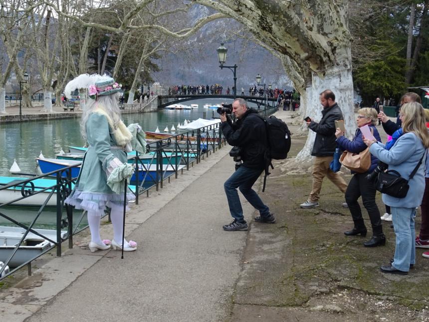 Contre champ - Carnaval Vénitien Annecy ©Paul Rassat