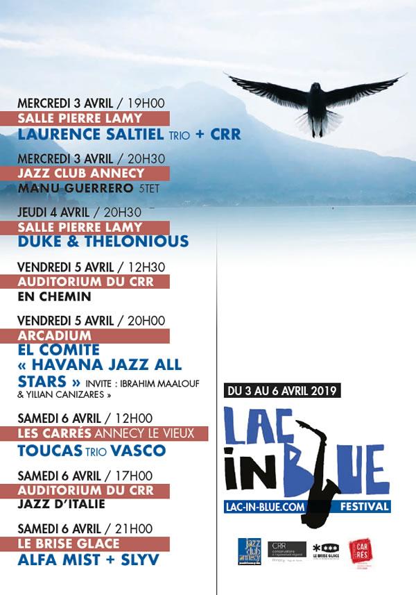 Lac In Blue Annecy Du 3 au 6 avril 2019