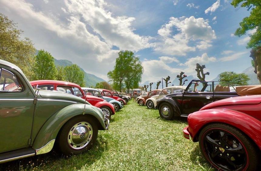 Meeting VW Talloires-Montmin ©Kantin Pontonnier