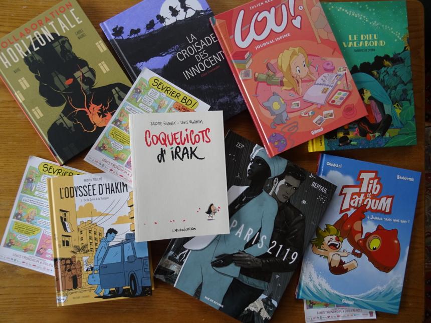 Avant goût (incomplet) des livres et auteurs de Sevrier BD