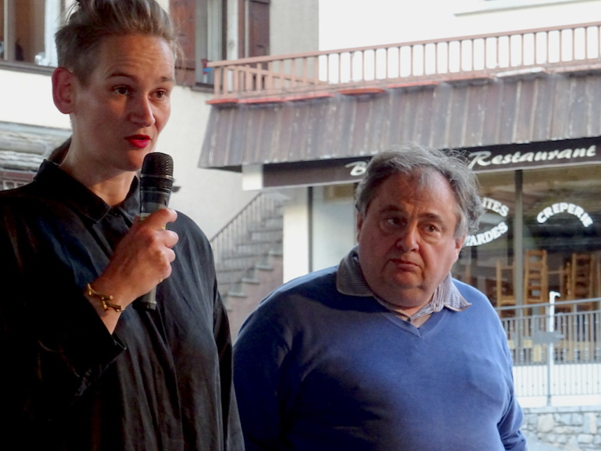 Henrike avec Pascal Pochat
