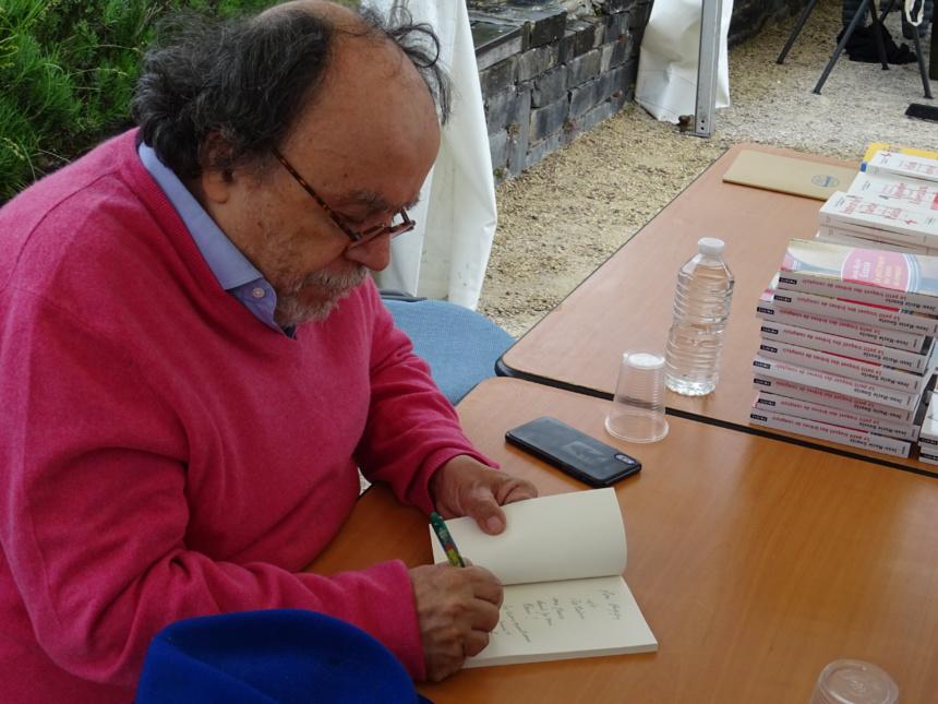 Propos échangés avec Jean-Michel Ribes à la Fête du Livre de Talloires 2019