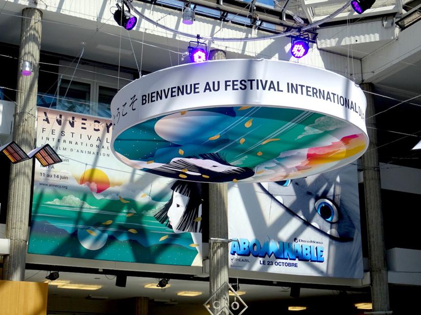 La ville d'Annecy se met aux couleurs du Festival du Film d'Animation