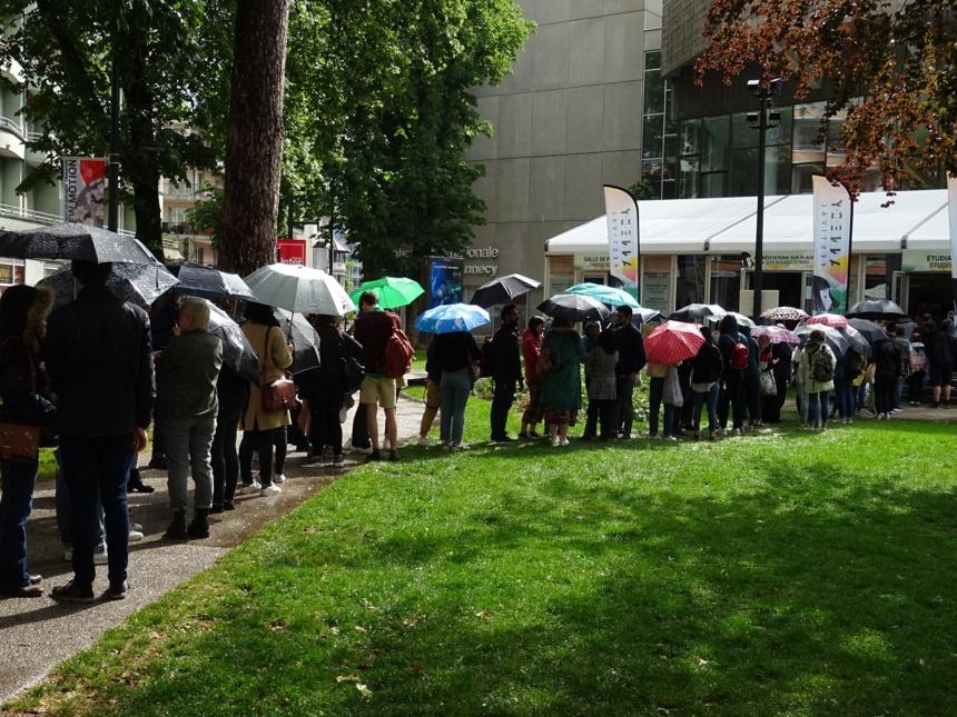 Les parapluies d'Annecy
