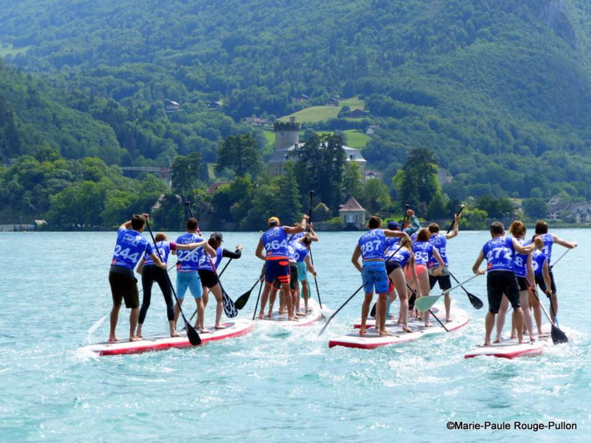 Talloires accueille toutes les formules de compétitions de paddle les 15 et 16 juin 2019
