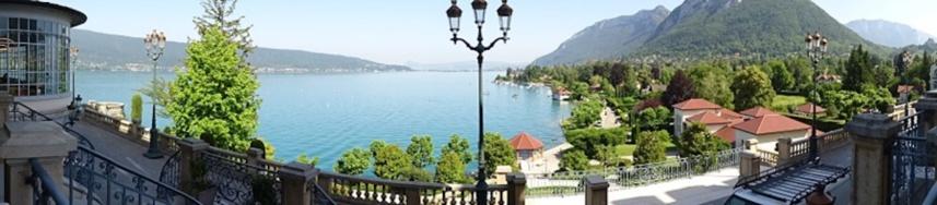 Le palace de Menthon, grain de Folie sur les rives du Lac d'Annecy