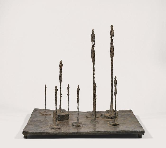 La Clairière© Succession Giacometti 2019,Prolitteris Zurich