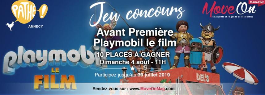 #JEU CONCOURS FACEBOOK / 10 places de cinéma à gagner avec Pathé Annecy !